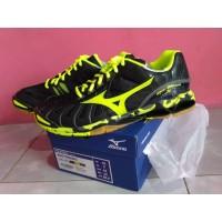 - Sepatu Volly Mizuno Wave Tornado X Black Yellow V1GA 161293