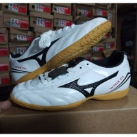 - Sepatu Futsal Anak Mizuno Monarcida White