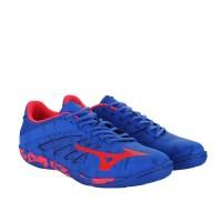 - Sepatu Futsal Mizuno Basara 103 Sala Strong Blue Diva Pink