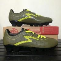 - Sepatu Bola Specs Quark FG Olive Zest Green 100828 BNIB