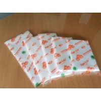 Kantong Plastik Es , Santan , Minyak , Bungkus , 3 Lobi Orange (PE)