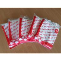 Kantong Plastik Kresek 3 Lobi Merah (HD)