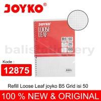 Refill Loose leaf Joyko B5 Grid isi 50