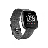 Jam Tangan Fitbit Versa Charcoal Woven Special Edition FB505BKGY-CJK