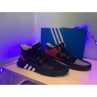 sepatu adidas eqt bask 100% original black red