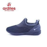 Ardiles Men Glareola Sepatu Slip On - Abu Abu