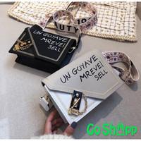 Tas Selempang Wanita High Quality Import Kulit PU Fashion Korea [SL30]