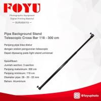 Pipa Background Stand Telescopic Cross Bar 118 - 300 cm