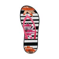 Sakroots Encore Flip Flop Sandal Neon Zen