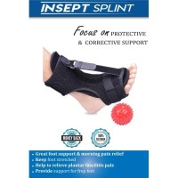 Plantar Fasciitis Night Splint Ankle Brace for Foot Orthosis Therapy