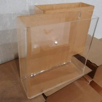 Aquarium Mini Ukuran P 20 cm x L 7 cm x T 15 cm