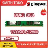 RAM KINGSTON Memori GAMING LONGDIMM DDR3 8GB (8GB*1) PC 12800
