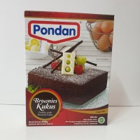 Pondan Brownies Kukus