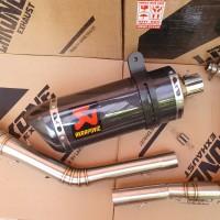 KNALPOT RACING AKRAPOVIC FULLSYSTEM CBR250RR R25 CBR 250 RR MT25