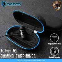 Sades Wings 10 In Ear IEM Gaming Earphone