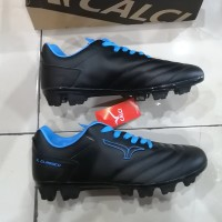 Sepatu Bola CALCI EPIC 2 SC BLACK / BLUE