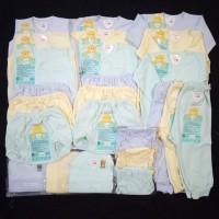 paket hemat baju bayi newborn polos warna Libby
