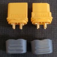 socket xt 60 / amass / konektor / 1 pair / baterai li-po / awg 12