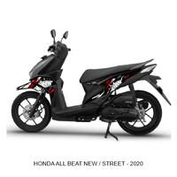 Striping Stiker variasi Motor Honda Beat New - Street 2020 BABY SHARK