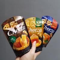 Glico Cheeza Crackers rasa keju Dari Jepang