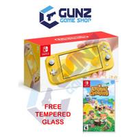 Nintendo Switch Lite Animal Crossing Bundle Pack - Kuning