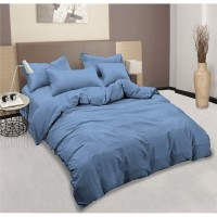 Aloha Bed Cover King ( 180 x 200 ) T20 - LIGHT BLUE