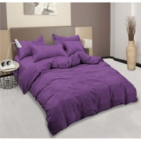 Aloha Bed Cover King ( 180 x 200 ) T20 - PURPLE