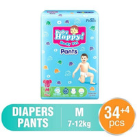 POPOK BABY HAPPY PANTS SIZE M34+4