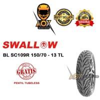 Ban luar motor matic 150/70-13 SWALLOW Urban Grip SC109 Tubeless
