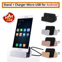Stand Charger Hp Stand Dock USB For Smartphone