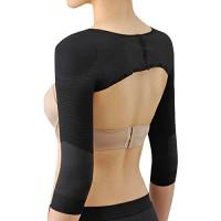 Ausom Womens Long Sleeve Arm Shaper Slimmer Back Shoulder Support Wrap