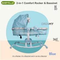 Babyelle Bouncer 2in1 Rocker n Bassinet ranjang Bayi Baby Elle Dreamy