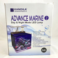 KANDILA Akuarium Set Ikan Laut ADVANCE Marine 24L