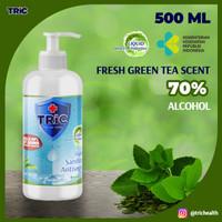 TRiC Green Tea Antiseptic Hand Sanitizer | Liquid | 500 ML Pump