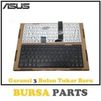 Keyboard Laptop ASUS X401 X401U X401A Series - HITAM