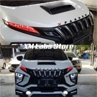 Aksesoris Mobil Promium Grill Mitsubishi Xpander Black Panther Apollo