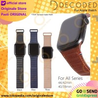 Decoded Traction Apple Watch Leather Strap Tali Jam Kulit