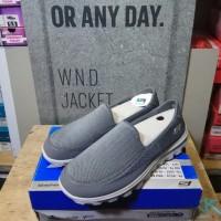 Sepatu Sneakers Skechers Go Walk 2 Grey Original | Termurah