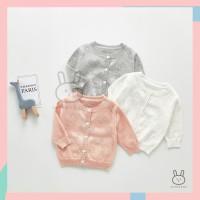 Kardigan / Jaket Rajut Anak Bayi Perempuan / Cewek