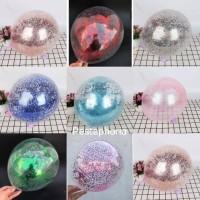 Balon Latex / Lateks Confetti Glitter 12 inch