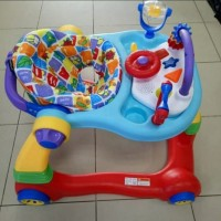 Baby Elle Baby Walker 2 in 1 Alat Belajar Jalan Bayi