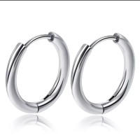 Anting earring Ring Hook stainless 12mm - 18mm