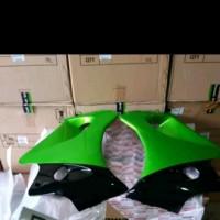 Fairing bawah Ninja RR Old hijau metalik Sepasang Original