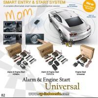 alarm mobil keyless entry + remote engine start Honda