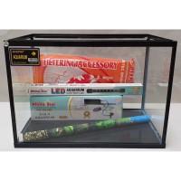 Paket aquarium Nikita Triset L dengan Lampu celup LED