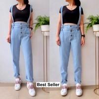 MYREDO - Overall Baju Kodok Jeans Wanita Caitlin