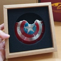 Broken Shield Captain America 1/6 scale for Hot Toys (Diecast)