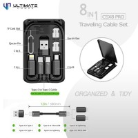 Ultimate Power 8in1 Traveling Cable Set CSX8 Pro