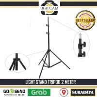 LIGHT STAND 2 METER / 200CM FOR SOFTBOX / LIGHTING DLL LIGHTSTAND