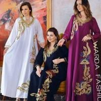 New baju gamis Abaya Bordir Dubai terbaru